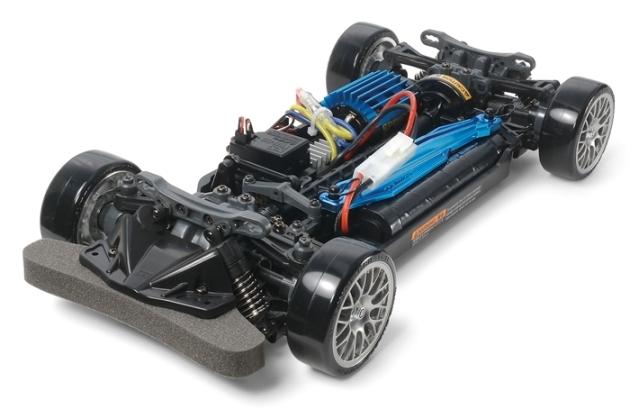 タミヤ「ニスモ R34 GT-R Z-tune ドリフトスペック 」をレビュー2
