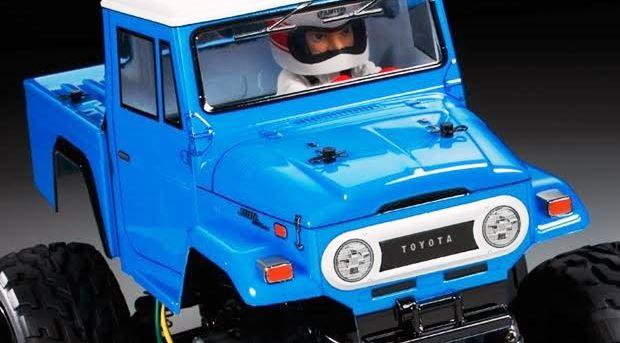 トヨタ「ランドクルーザー40」のラジコンカー
