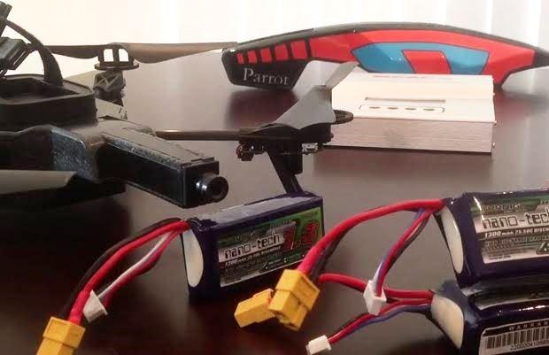 ドローンで使われるリポバッテリーの取扱い方・注意点