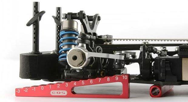 ドリフト ラジコンカーのリバウンドストロークを調整【セッティング】