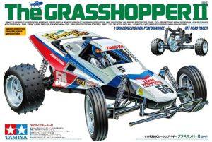 RCカー復刻版・タミヤ「グラスホッパーⅡ」をレビュー