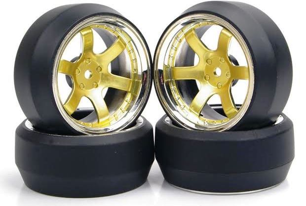 ラジドリ用タイヤの材質や種類・特性・自作