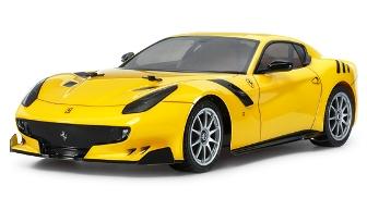 タミヤの新作rcカー「フェラーリf12tdf」ラジコンカー