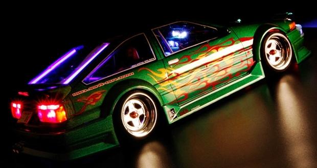 ラジドリのボディにライトユニットを付ける方法・注意点【電飾】