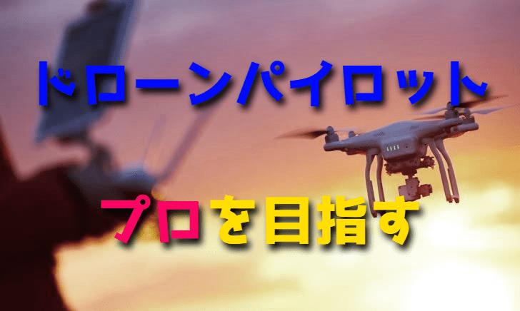 プロのドローンパイロットを目指す【JDAドローン操縦士認定試験】