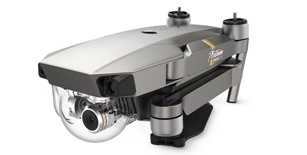 DJIから新型の空撮ドローン「Mavic Pro Platinum」登場