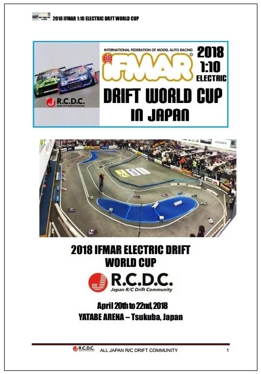 ラジドリ世界選手権 2018年に谷田部アリーナで開催